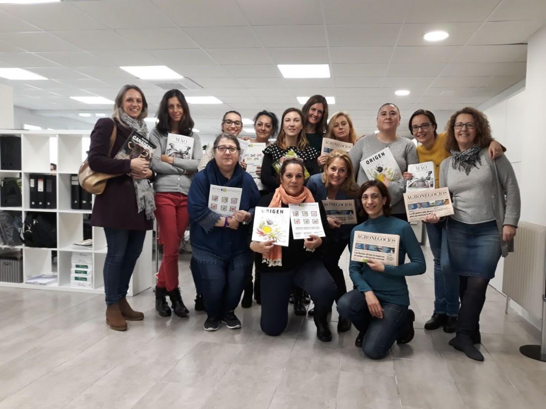 Las editoriales Eumedia e Eypasa, con las mujeres trabajadoras