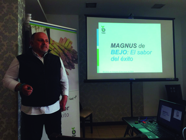 Bejo muestra en Granada las ventajas de sus variedades de espárrago