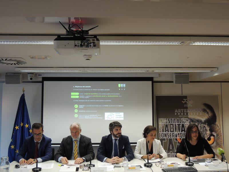 Más de 6.475 M€, gasto de la actividad cinegética en España