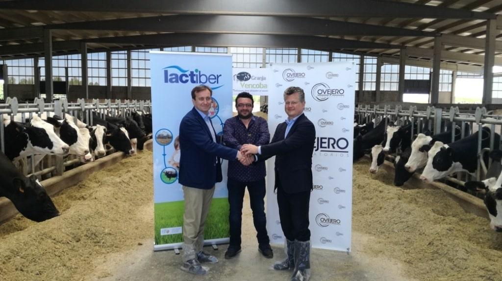 Acuerdo Laboratorios Ovejero y Lactiber León para promover uso prudente de antibióticos en vacuno lácteo