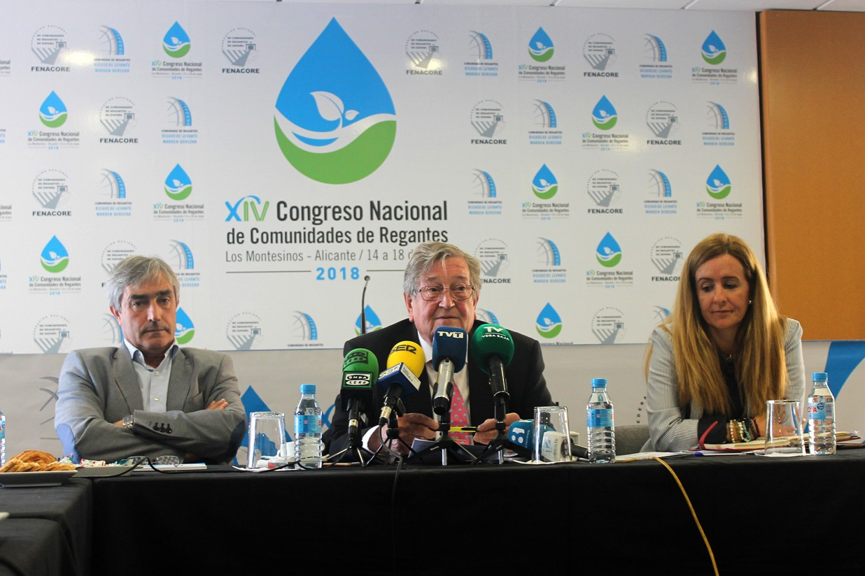 El XIV Congreso Nacional de Comunidades de Regantes congregará a mil profesionales en Torrevieja