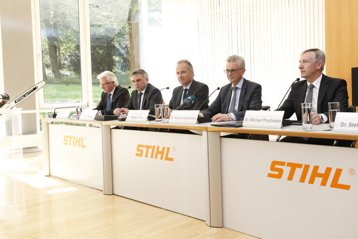 El grupo Stihl vuelve a batir un nuevo récord de facturación