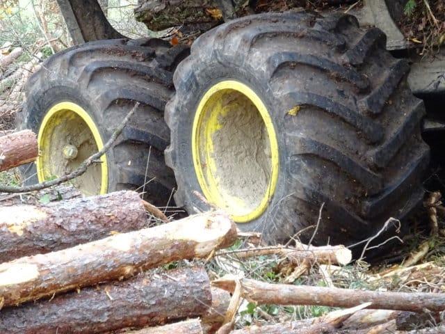 Alliance F344 Elit, el primer neumático forestal de baja presión
