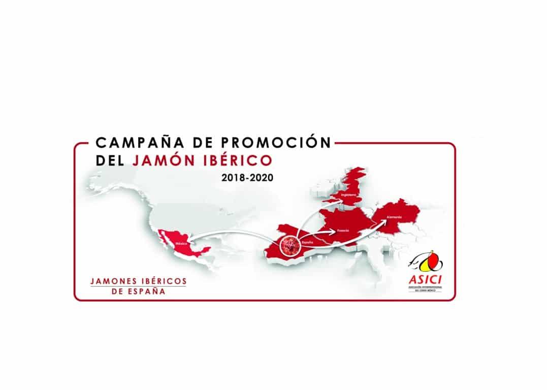 Los jamones ibéricos de España se promocionarán en ciudades de Europa y México