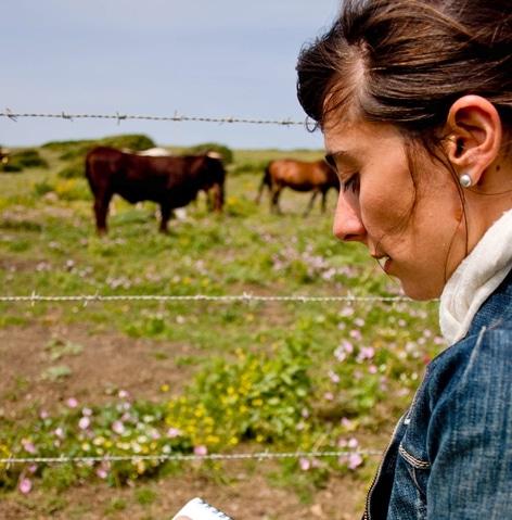 Paola del Castillo, ganadera todoterreno