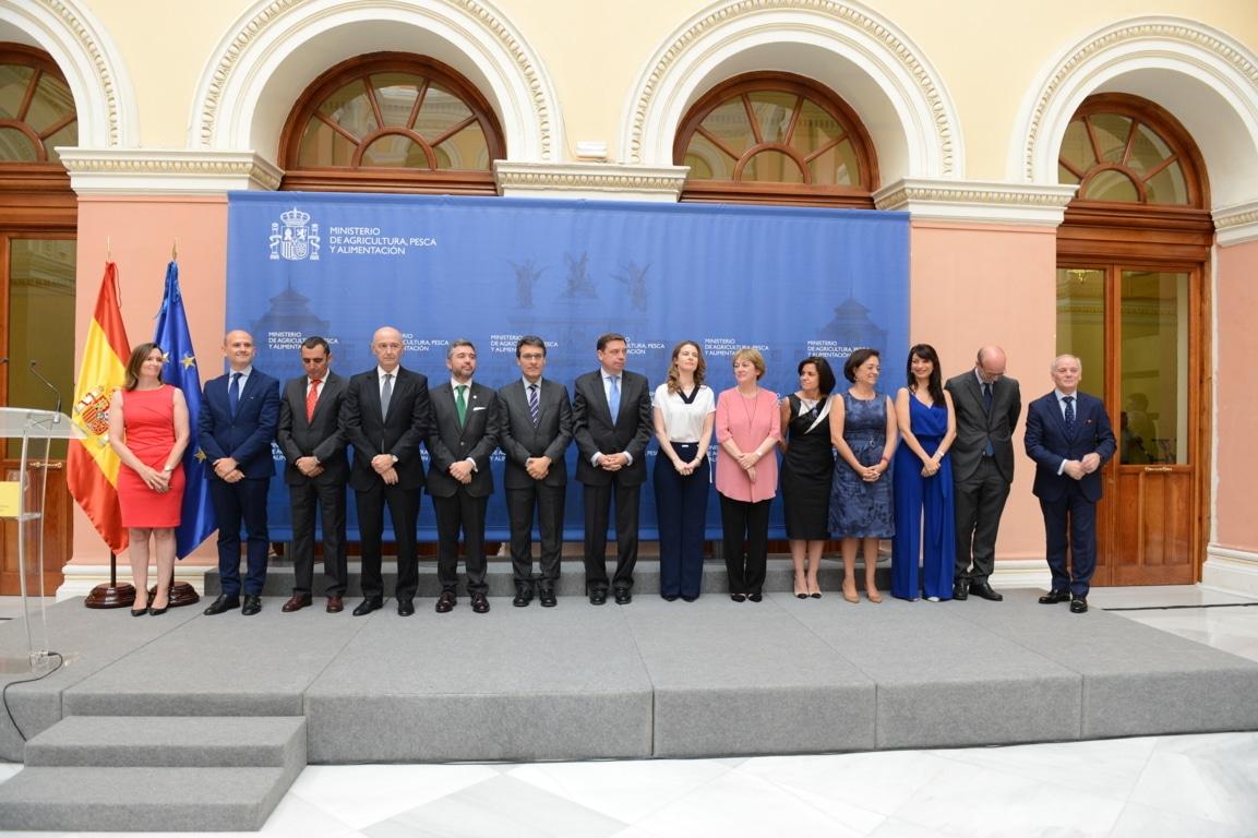 Rigor, honestidad y transparencia, petición de Luis Planas a sus nuevos altos cargos