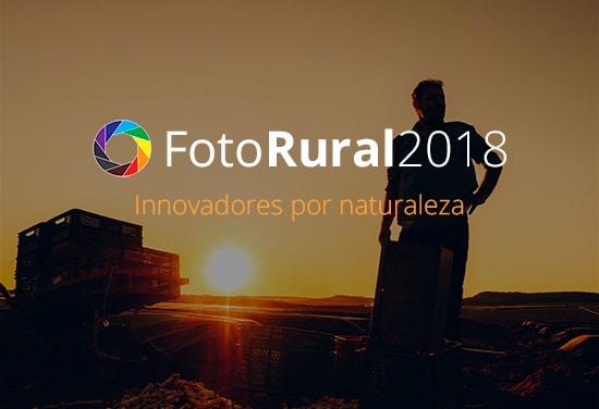 El Concurso FotoRural 2018 premiará la innovación en el campo