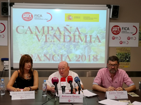 Cerca de 14.000 temporeros españoles irán este año a la vendimia francesa