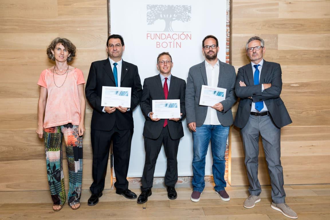 La Fundación Botín entrega los V Premios al Talento Joven para la Gestión Sostenible del Agua
