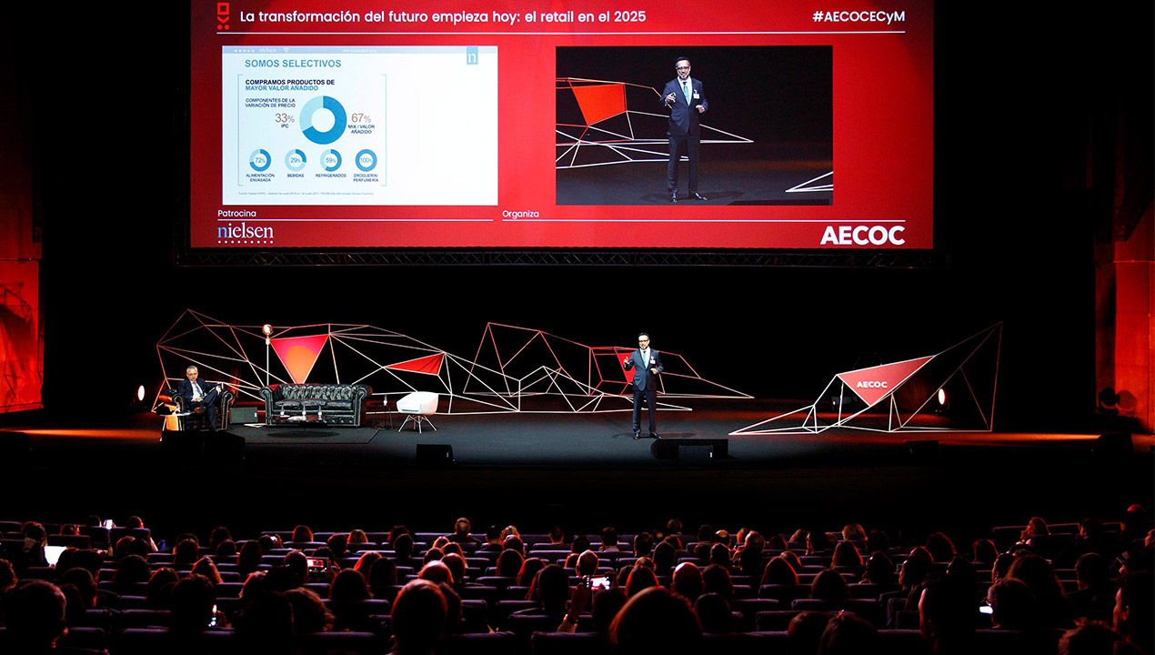 Un millar de altos directivos se reunirán en la 33ª edición del Congreso AECOC del gran consumo