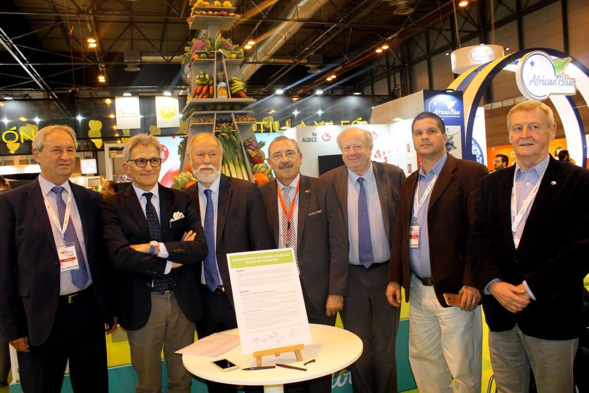 Acuerdo de OIAs de España, Francia, Italia y Hungría para avanzar en la defensa del sector hortofrutícola