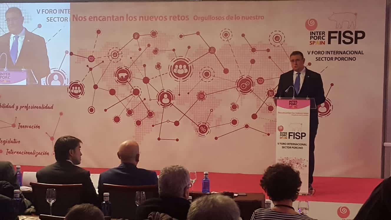 """Manuel García: """"Son muchos los retos del sector porcino, pero aún mayor su capacidad de superarlos"""""""