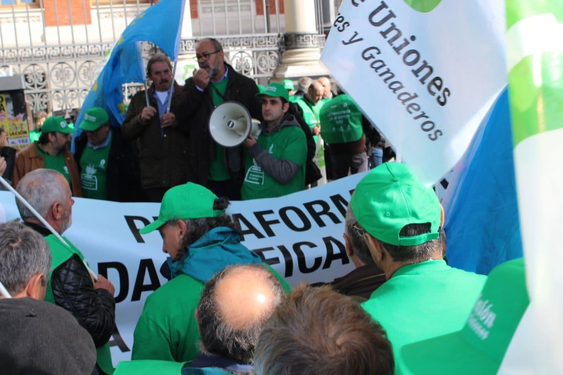 Unión de Uniones se concentra en Madrid reivindicando elecciones agrarias ya