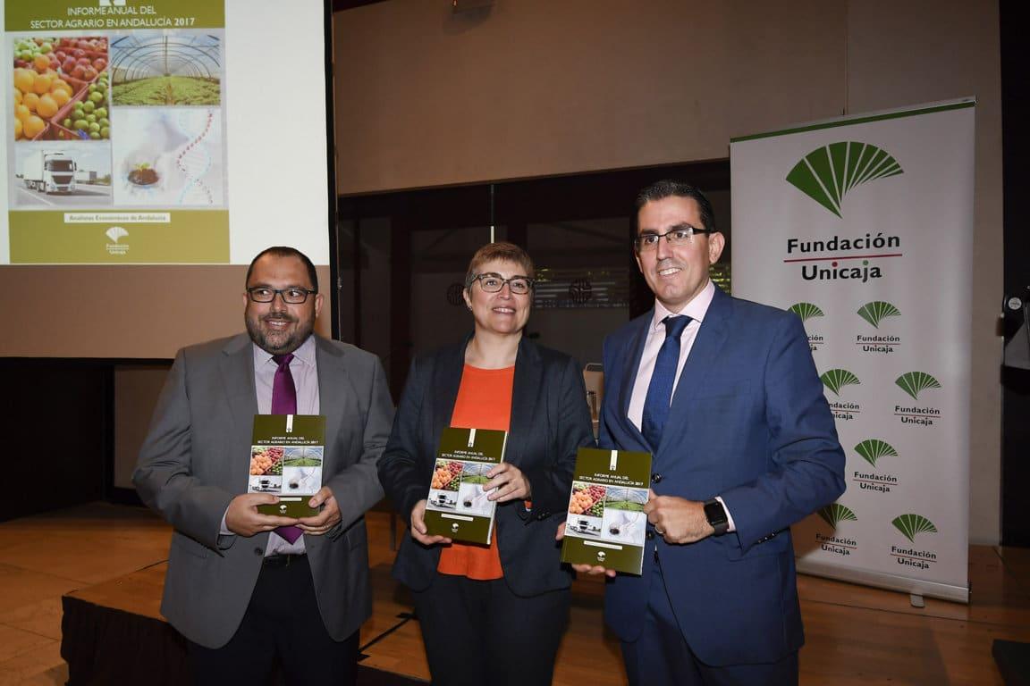 Fundación Unicaja publica el Informe Anual del Sector Agrario en Andalucía 2017