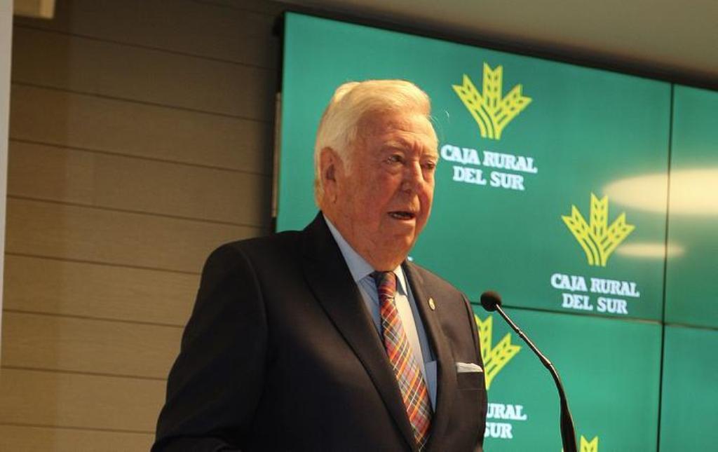 Fallece José  Luis García Palacios,  toda una vida ligado al agro andaluz y a la Caja Rural del Sur