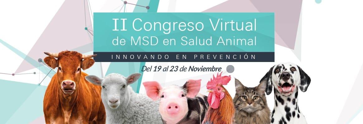 Arranca con más de 13.000 profesionales el II Congreso Virtual MSD Animal Health