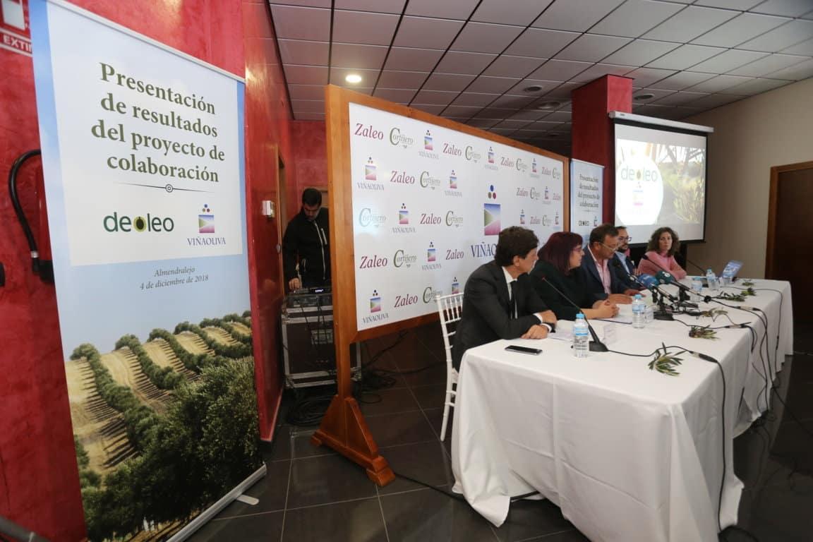 La colaboración entre Deoleo y la cooperativa Viñaoliva obtiene los primeros aceites sostenibles