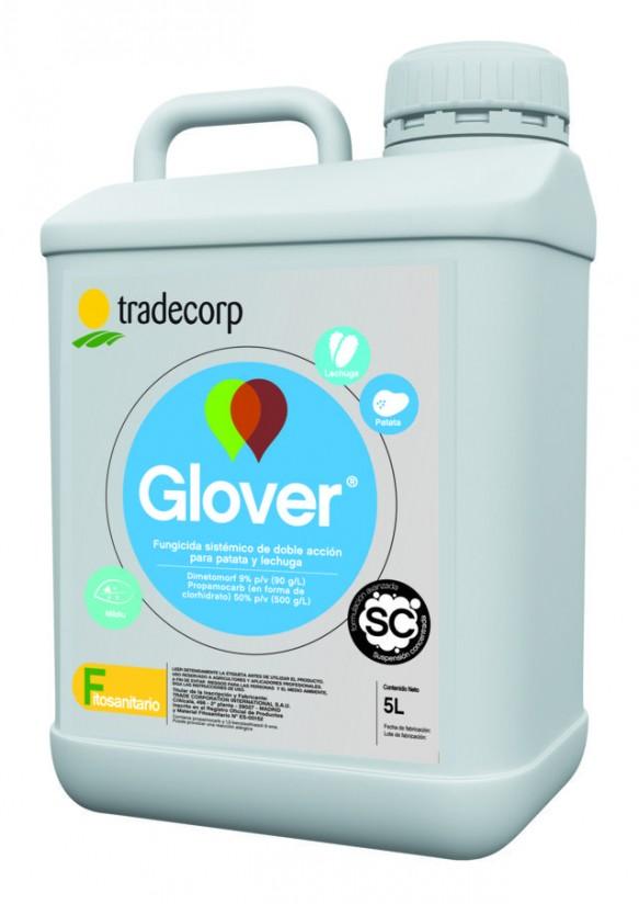 Glover, el nuevo fungicida de Tradecorp para el control de mildiu en lechuga y patata