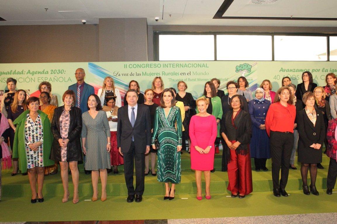 Madrid acogió el II Congreso Internacional «La voz de la mujer rural en el mundo»