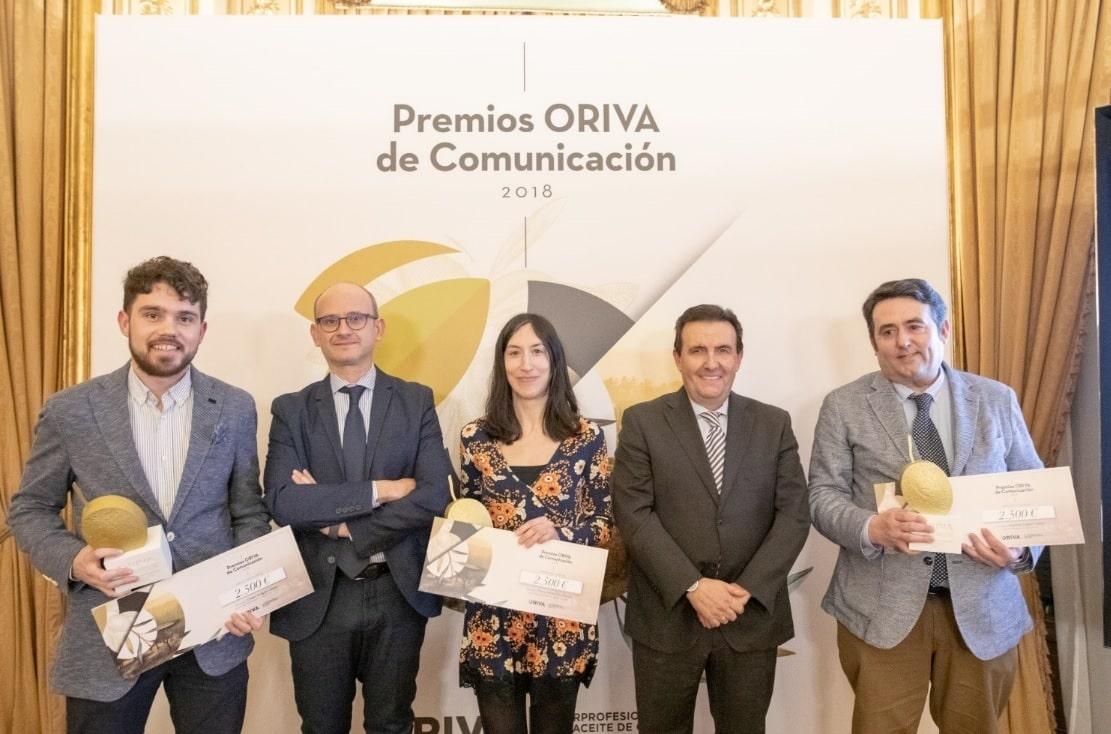 La Interprofesional ORIVA entrega sus premios de comunicación