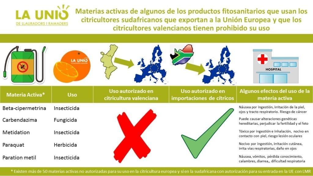 La Unió pide suspender la importación de cítricos de Sudáfrica a la UE por motivos fitosanitarios