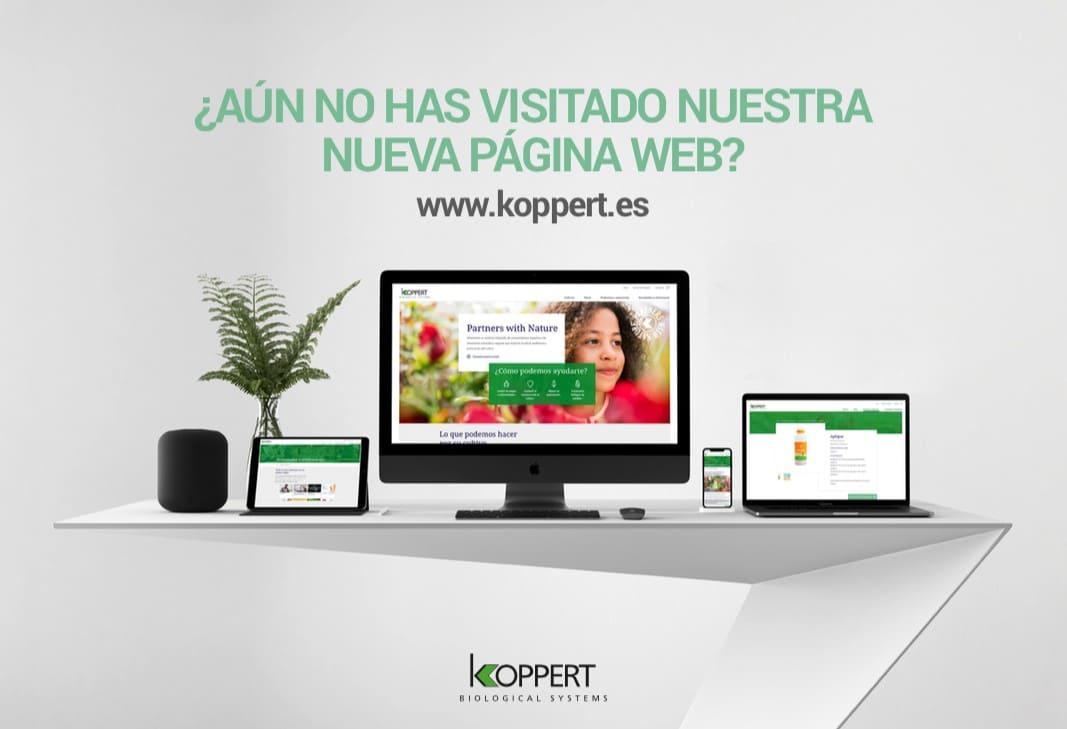 Koppert España estrena web