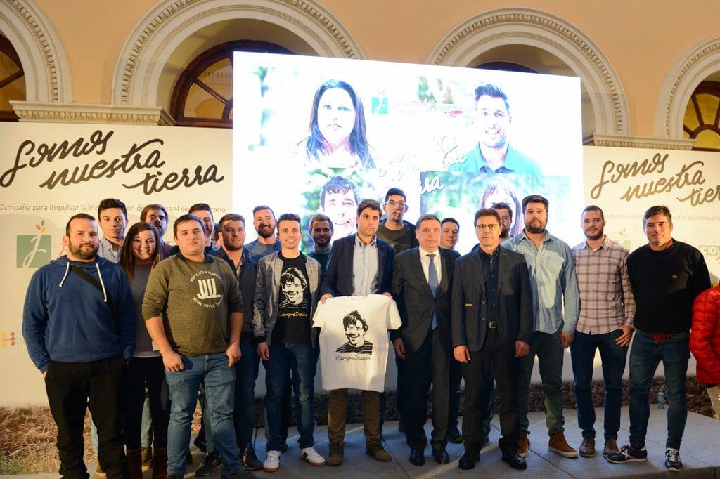 La incorporación de jóvenes al campo español estaría ya en torno a los 12.000 hasta finales de 2018