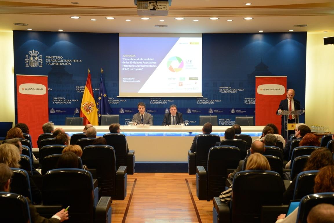 Las EAPs agroalimentarias facturan más de 2.800 M€ de más de 130.000 socios cooperativistas