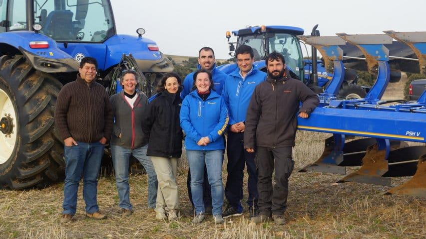 New Holland PSH V semisuspendido de siete cuerpos, ajustes optimizados a cada terreno y cada tractor