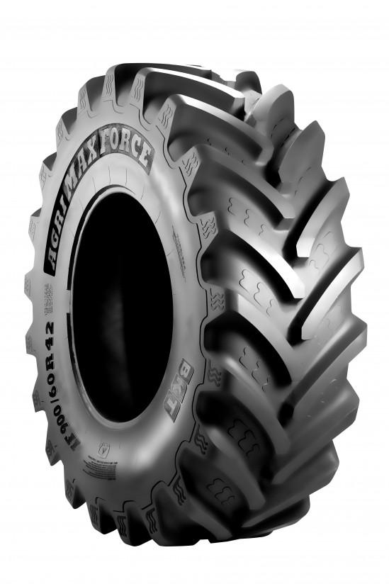 El nuevo Agrimax Force de BKT inaugura la era de los neumáticos gigantes