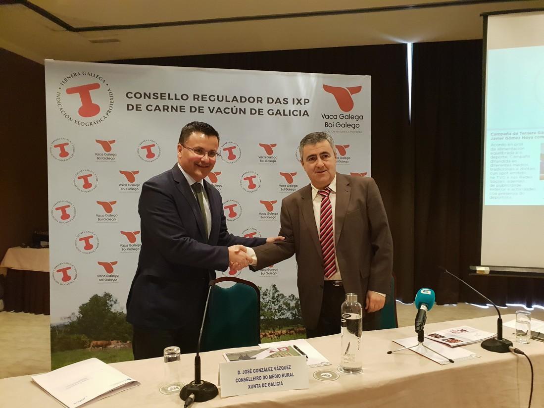 La IGP Ternera Gallega creció por encima de un 3% en certificación y comercialización de carne