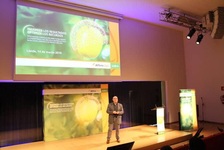 Affirm Opti, la nueva solución de Syngenta para el control de lepidópteros en manzano