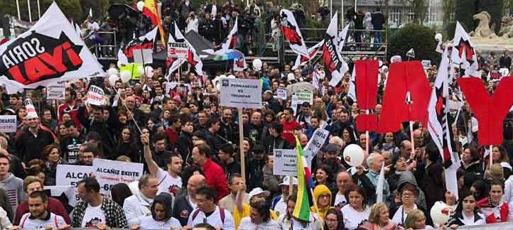 Más de 50.000 personas se manifiestan en Madrid demandando soluciones para la España Vaciada