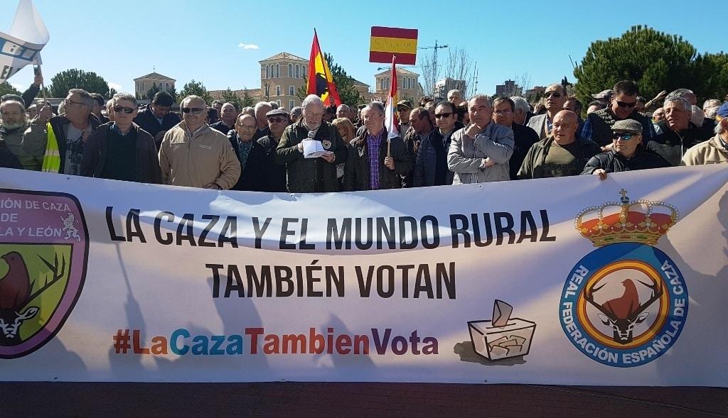 ASAJA se suma a la protesta contra el bloqueo a la caza en Castilla y León