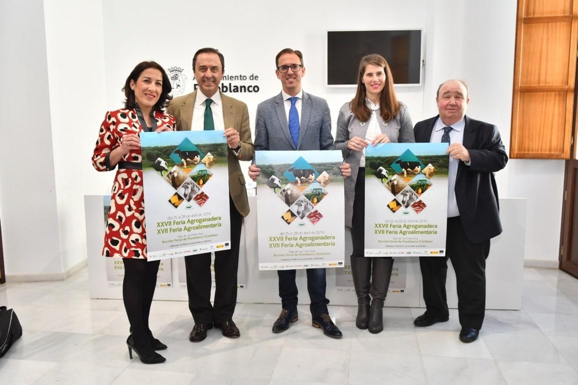 Los Pedroches acogerá la XXVII Feria Agroganadera y XVII Agroalimentaria