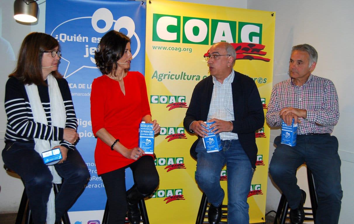 Se presenta la iniciativa social «¿Quién es el Jefe. La Marca de los Consumidores» para impulsar el precio de la leche en origen