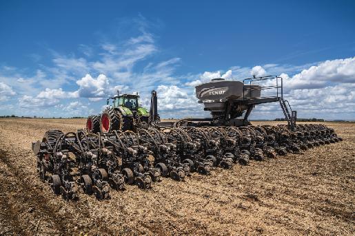 Fendt presenta en Agrishow su nueva sembradora Fendt Momentum