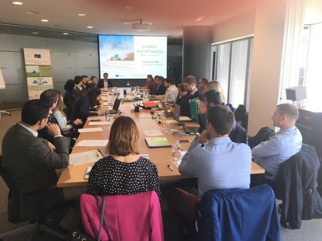 Fertiberia lidera el proyecto europeo de demostración tecnológica B-Ferst