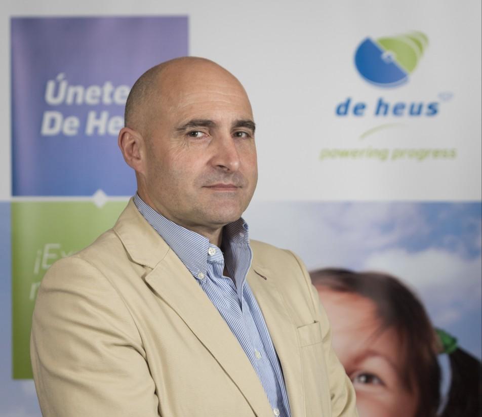 Francisco Rubio, nuevo director comercial de De Heus España
