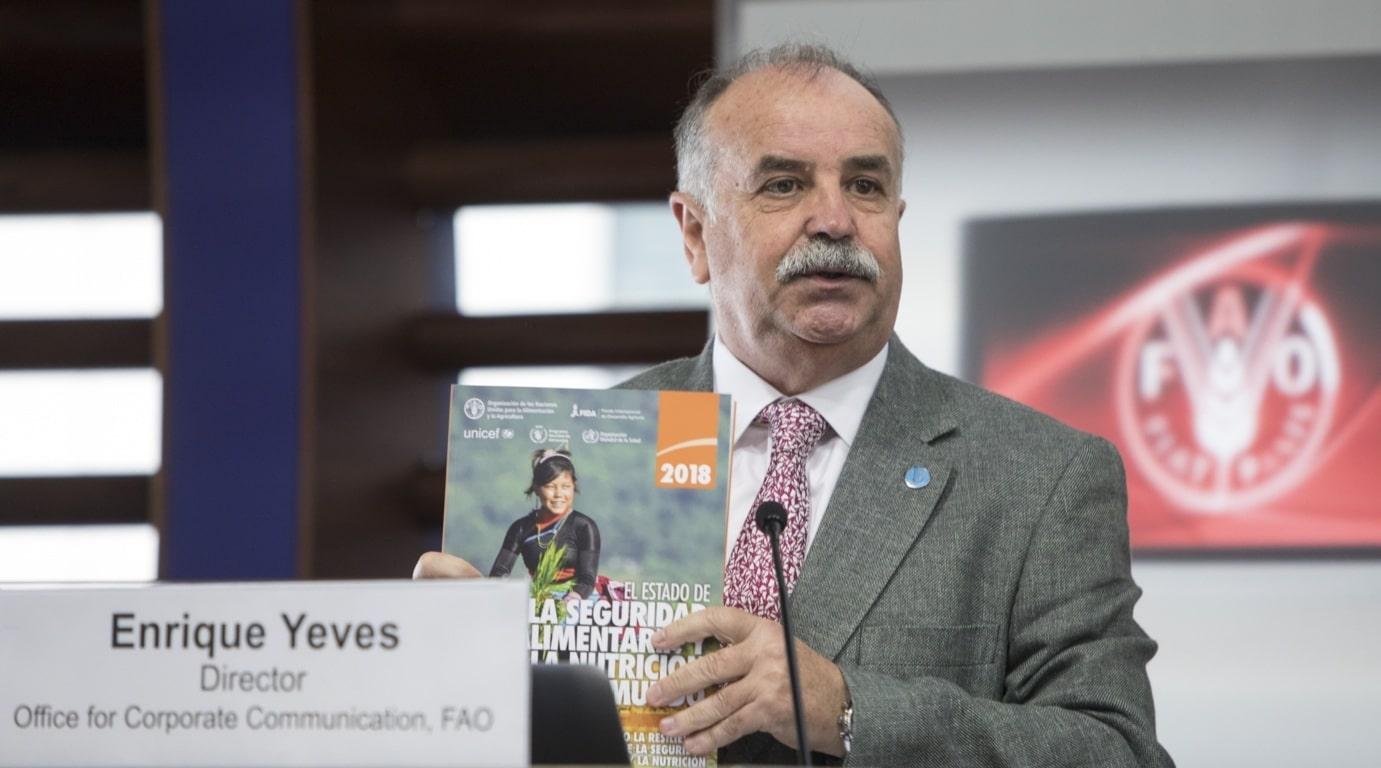 El periodista Enrique Yeves, nuevo director de la oficina de FAO en España