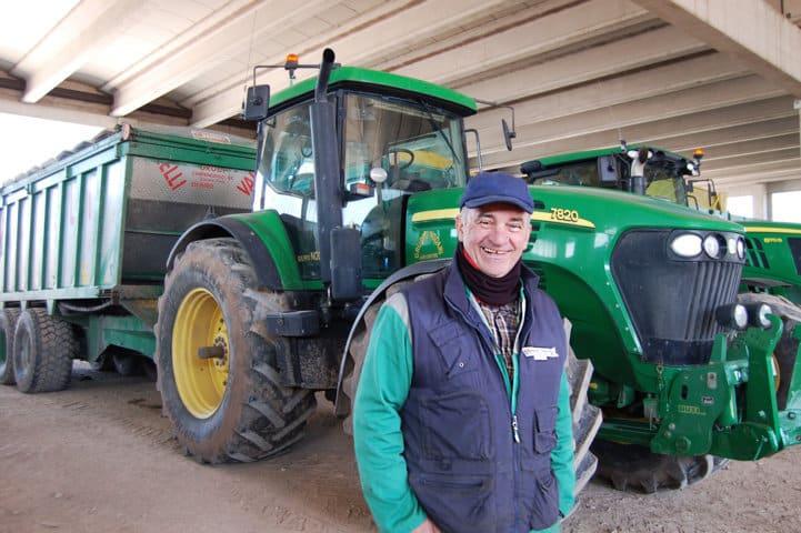 Martino Nodari, empresario agrícola: «Hoy más que nunca es necesario elegir el neumático adecuado para cada aplicación»