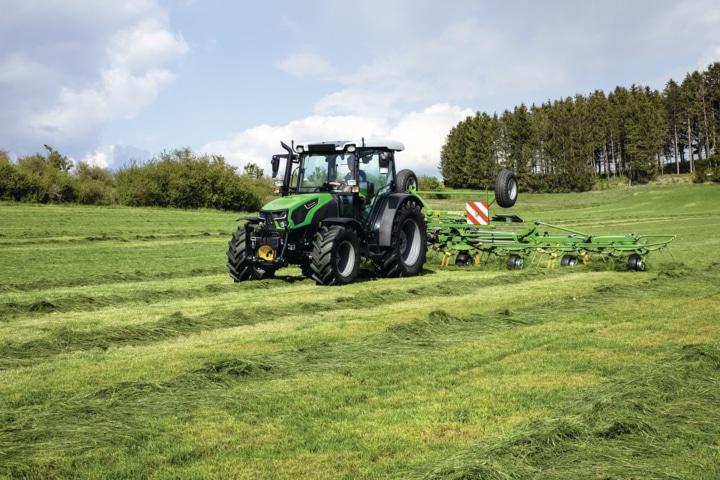 Deutz-Fahr renueva su serie de tractores compactos 5D