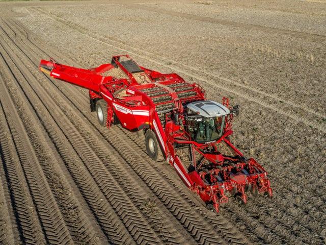 Grimme mostrará en Potato Europe la cosechadora autopropulsada Ventor 4150