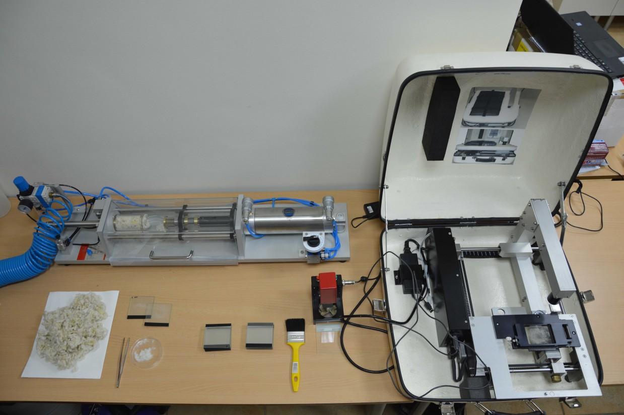 El Grupo Operativo Filotat adquiere tecnología australiana para agilizar la toma de muestras y el análisis de las partidas de lana
