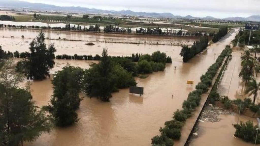 Agroseguro estima 84 M€ de indemnización en cultivos por la gota fría del Levante español