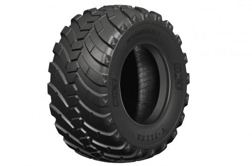 BKT presentará su nuevo neumático para remolques V-Flexa en Agritechnica 2019
