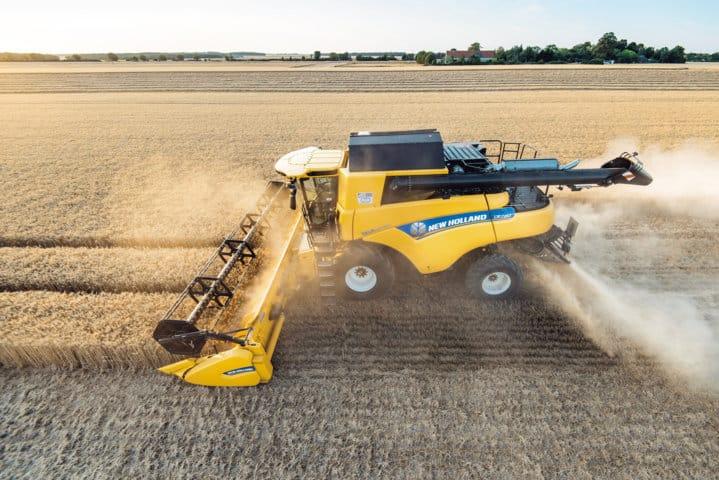 Mejoras en la serie de cosechadoras CR Revelation de New Holland