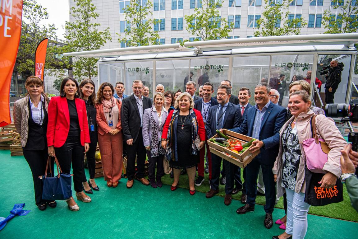 Lanzamiento oficial del programa de promoción de frutas y hortalizas «CuTE: Cultivating the Taste of Europe» en la Eurocámara