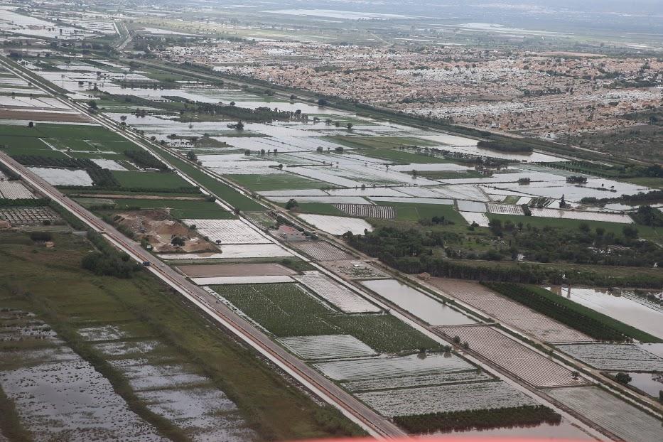 AEMET: un temporal de lluvia sin precedentes en los últimos 100 años en la Vega Baja del Segura