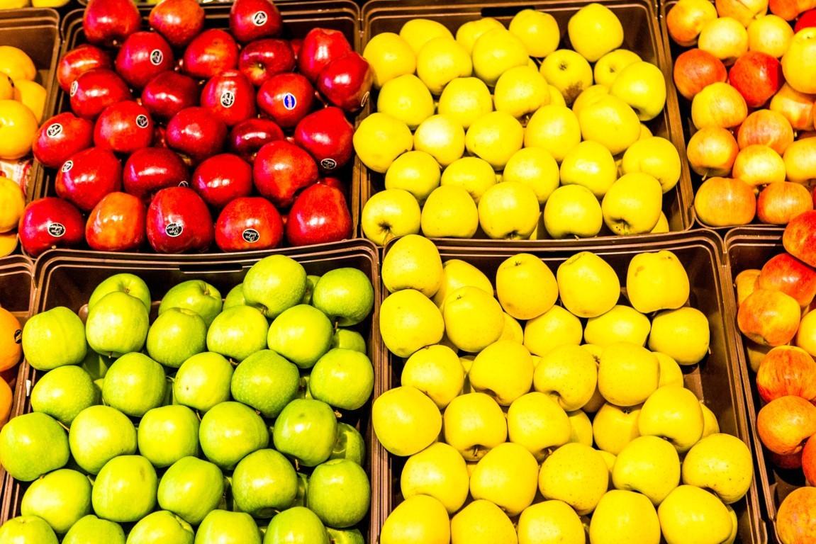 Crecimiento lento, pero sostenido de la presencia de manzana nacional en los lineales